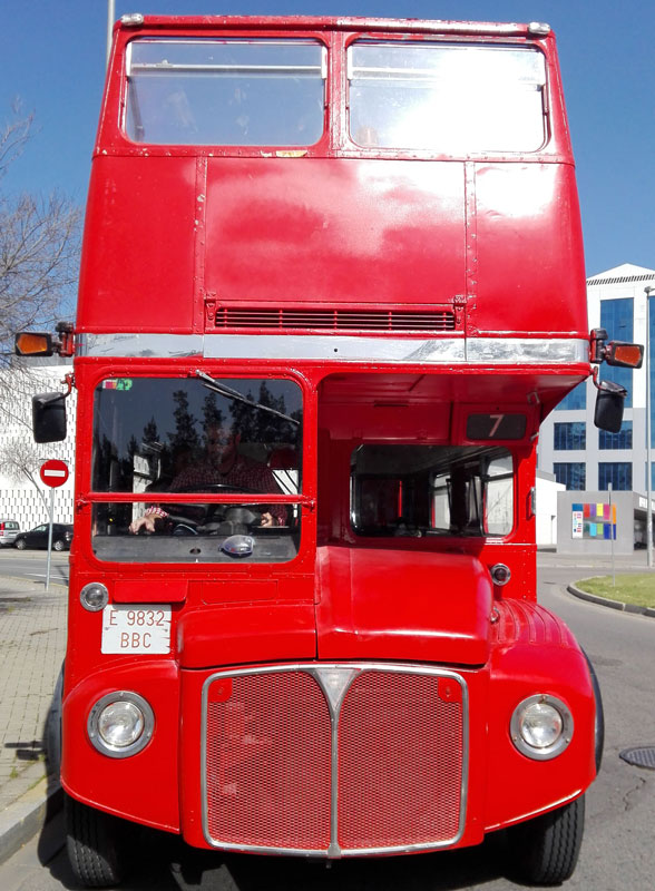 Bus frontal routemaster
