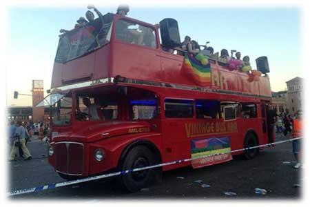 Eventos en autobús