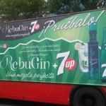 Campaña RebuGin en la feria de Sevilla y Mairena del Alcor