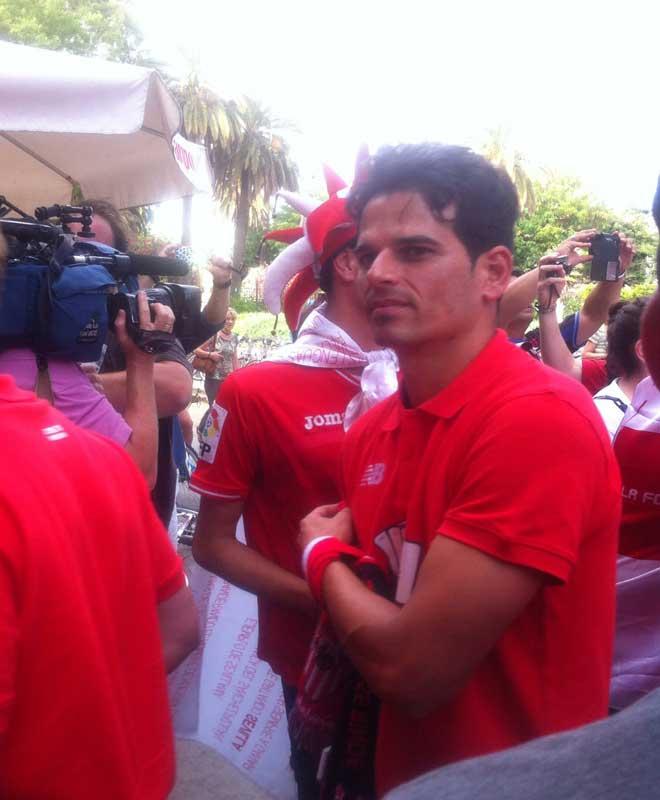 jugador del Sevilla