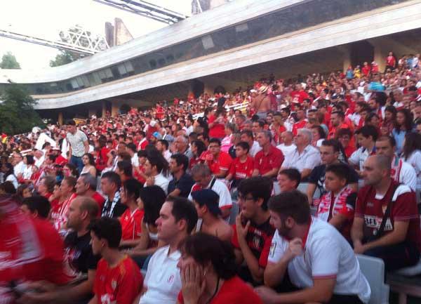 Auditorio Rocío Jurado final UEFA