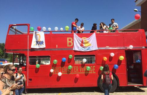 Caravana Colegio Salesiano con BigBus