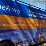 Campaña de Home Away con BigBus en Sevilla