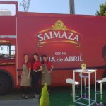 Campaña de Saimaza en la Feria de Sevilla