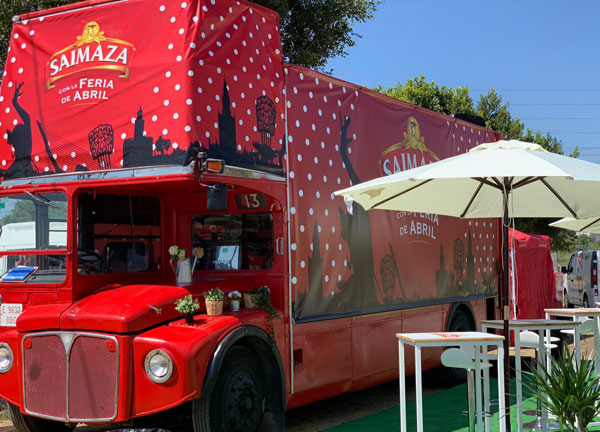 BigBus con Saimaza - Feria Sevilla 2019