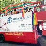 Promoción Embryocenter en el Día del Orgullo LGTBI 2019